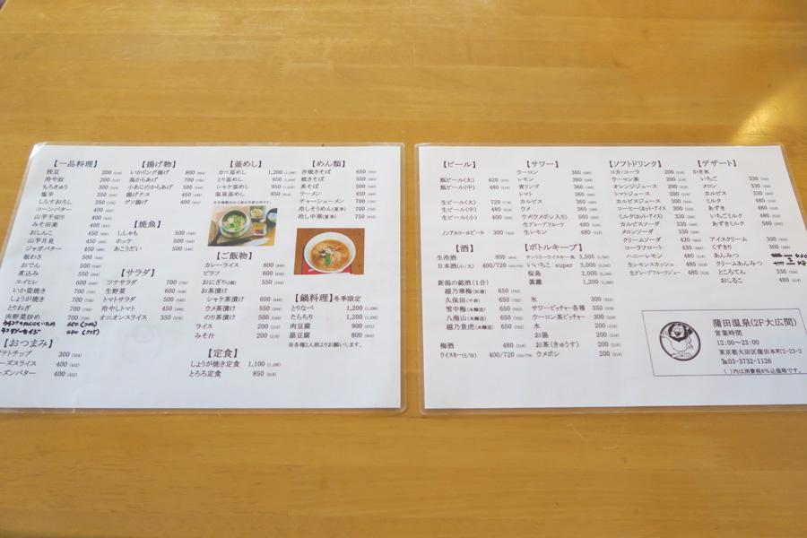 20151120 大田区蒲田温泉
