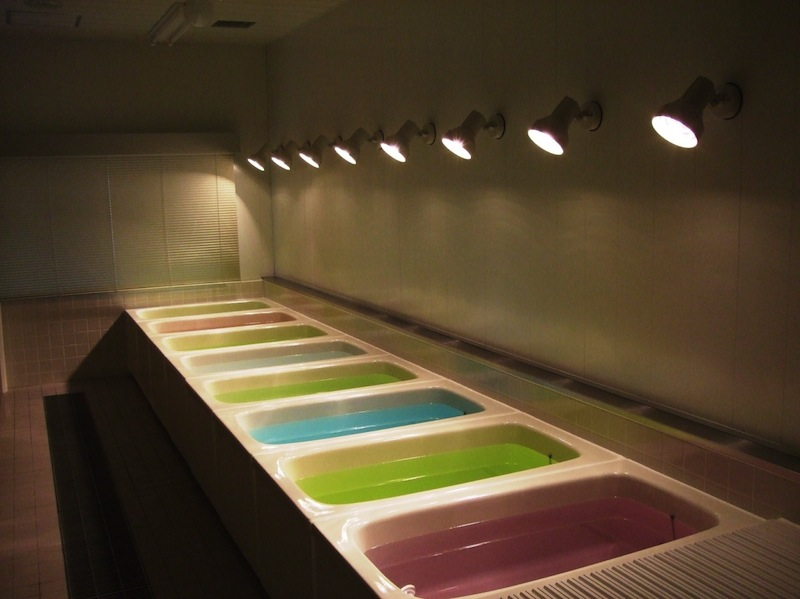 入浴剤評価室