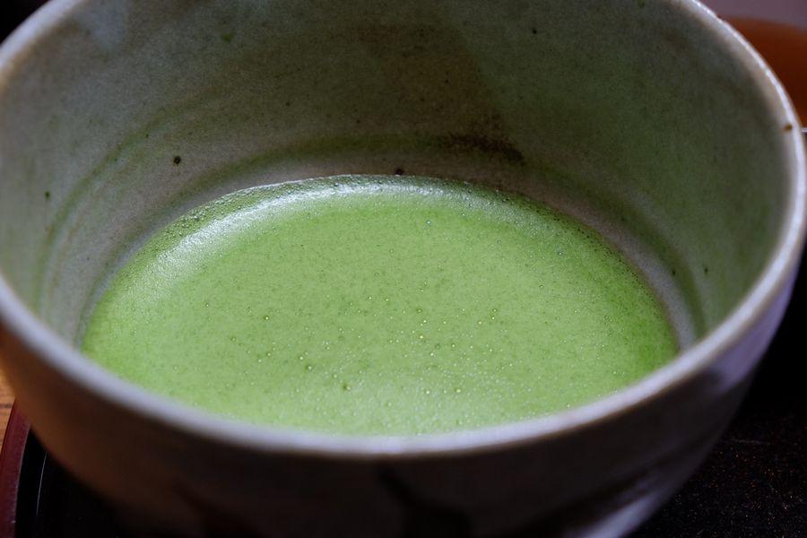 20161123 みどり湯目黒区 抹茶カフェ
